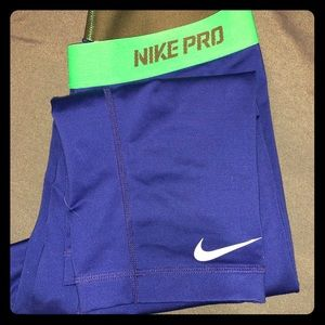 Nike pro working out pants